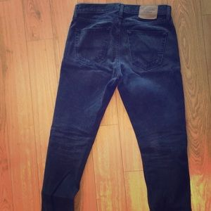 Abercrombie and Fitch Orig. Taper Black Denim
